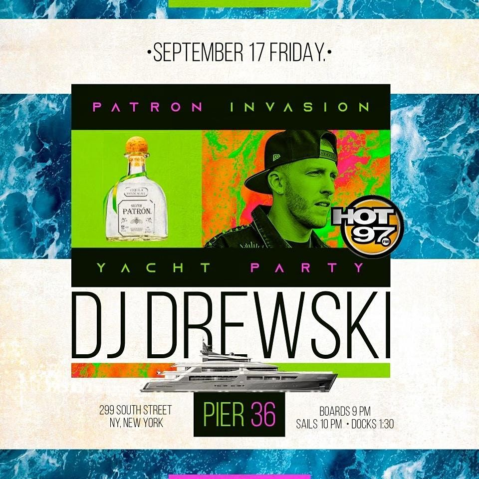 Patron Invasion Yacht Party, 17 September | Event in New York | AllEvents.in