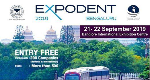 Expodent Bengaluru 2019