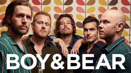Boy & Bear // Sydney, NSW (AA), 19 November | Online Event | AllEvents.in