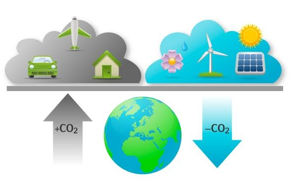 Carbon credits and offsetting