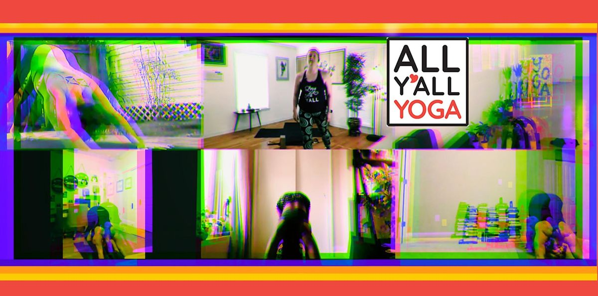 Baptiste Power Yoga @ All Y'All Yoga | Online Event | AllEvents.in