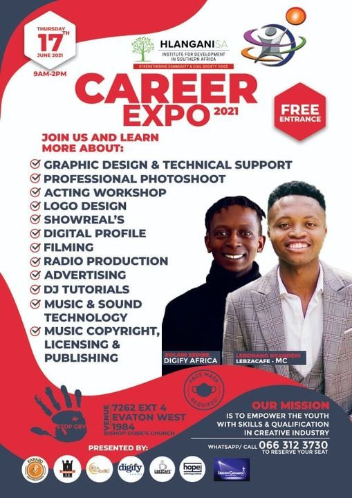 Creatives Career Expo | Event in Evaton | AllEvents.in