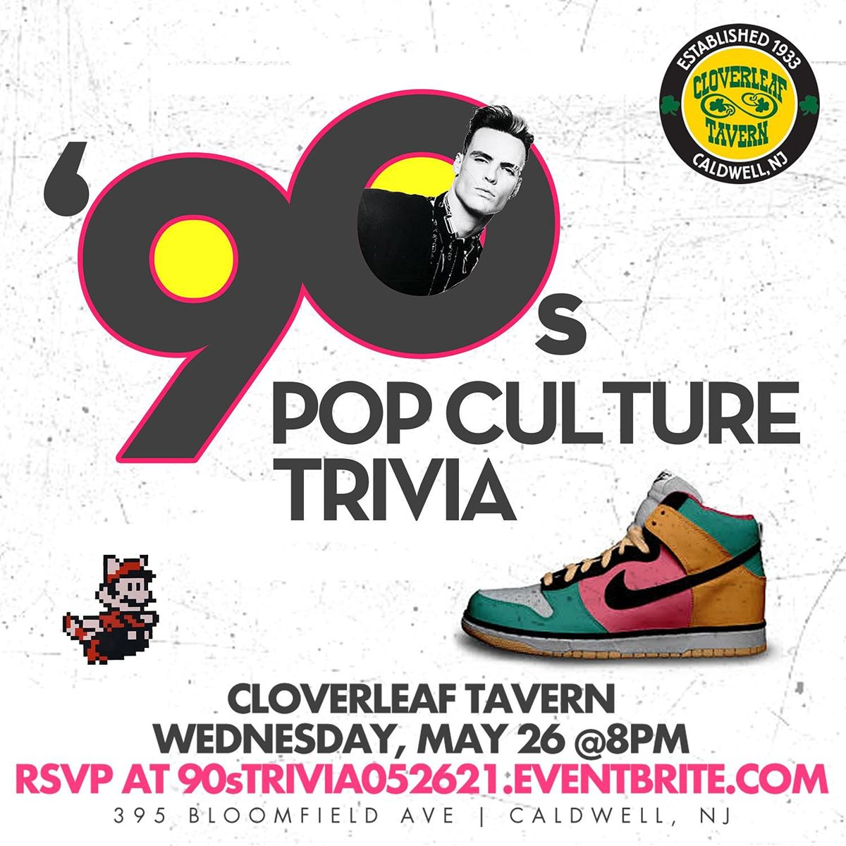 90s Pop Culture Trivia, 26 May | Event in Caldwell | AllEvents.in