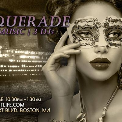 Titanic Masquerade Boston Halloween Party Cruise
