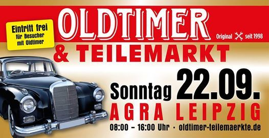 1. Leipziger Herbst-Teilemarkt mit Treffen fr Old-& Youngtimer