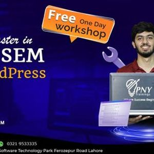 Free One Day Workshop on Become a Master in SEO & SEM with WordPress