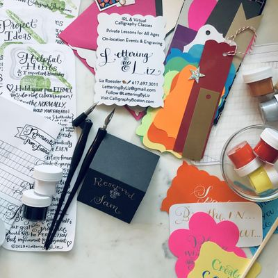 NYC In-person Calligraphy Workshop for Beginners