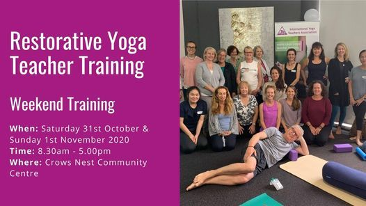 Restorative Yoga Teacher Training - Weekend Training