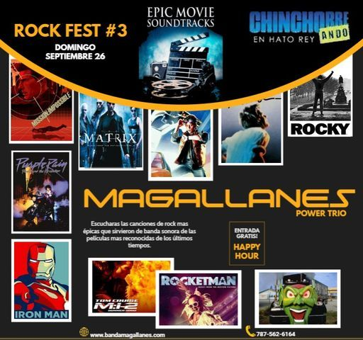 Epic Movie Soundtracks by Magallanes, 26 September | Event in San Juan | AllEvents.in