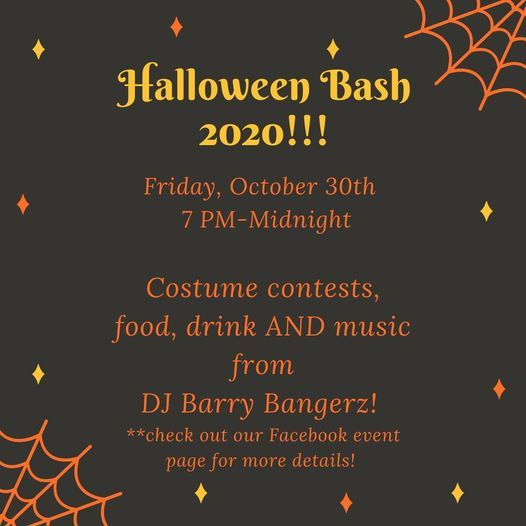 Jasper Halloween 2020 Halloween Bash 2020, Five Loaves Cafe, Jasper, 30 October to 31