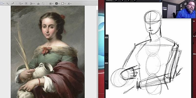 Digital Drawing from the Masters | 6.27.2021, 27 June | Online Event | AllEvents.in