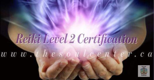 Usui Reiki Level 2 - Certification
