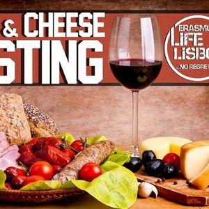 Wine & Cheese Tasting by Erasmus Life Lisboa