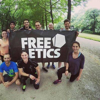 Sport gratuit  Bruxelles et rencontres  entrainement Freeletics du jeudi