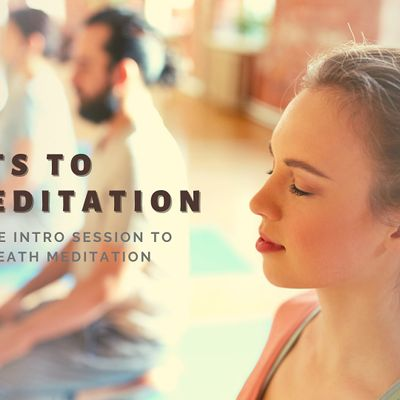 Secrets to Meditation - An Intro to Happiness Program