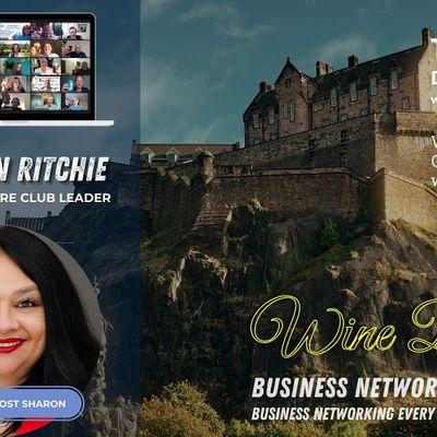 Wine Down Friday - Online Networking Event - Edinburgh Glasgow Scotland