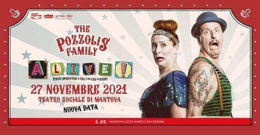 The Pozzolis Family - Teatro Sociale Mantova - 27 novembre 2021, 27 November   Event in Suzzara   AllEvents.in