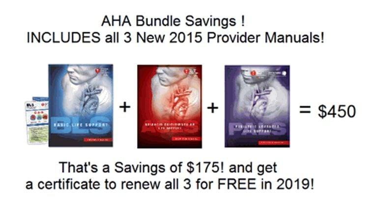 aha acls bls pals colorado springs bundle package lehman suite drive savings three saving hearts inc manuals provider class providers