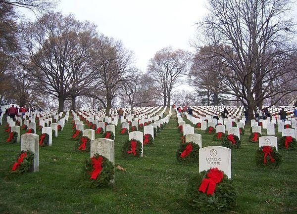 Volunteer To Place Wreaths at Arlington National Cemetery