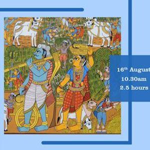 Cheriyal (Indian Folk Art) Workshop by Sai Kiran