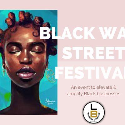 POP-UP SHOP The Black Wall Street Festival
