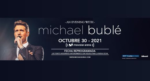 An evening with Michael Bubl  BA