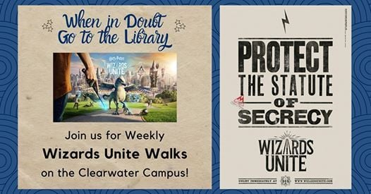 Wizards Unite Walks - Clearwater at St  Petersburg College