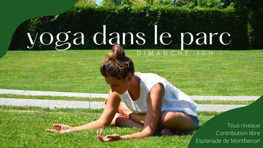 YOGA DANS LE PARC avec Laure, 19 September   Event in Lausanne   AllEvents.in
