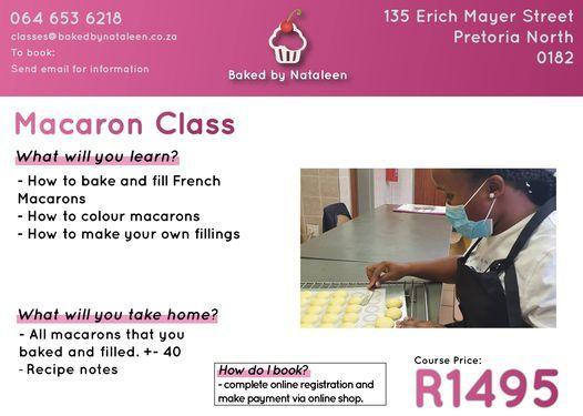 Macaroon Class, 15 March | Event in Pretoria | AllEvents.in