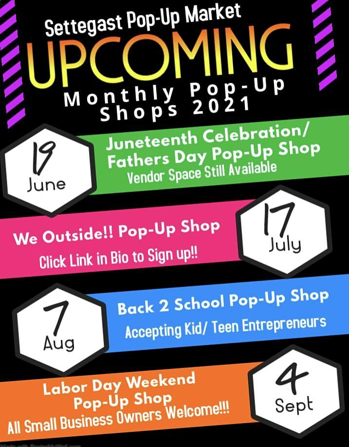Settegast Monthly Pop-Up Markets | Event in Houston | AllEvents.in