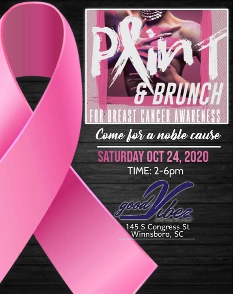 Paint & Brunch Breast Cancer Awareness | Event in Winnsboro | AllEvents.in