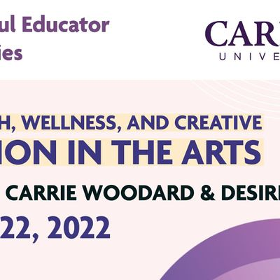 Mental Health Wellness and Creative Expression in the Arts