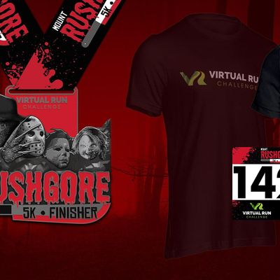 2020 - Mount RushGore Virtual 5k Halloween Run - Chula Vista