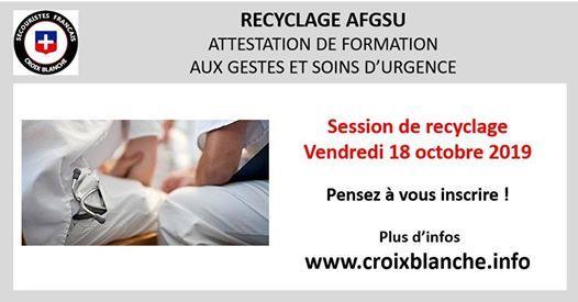 Recyclage AFGSU