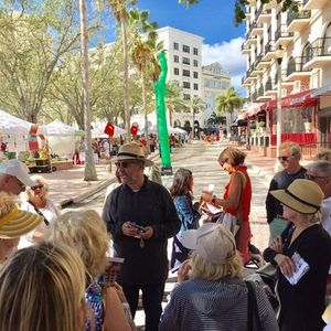 Historic Walking Tour Saturday Green Market