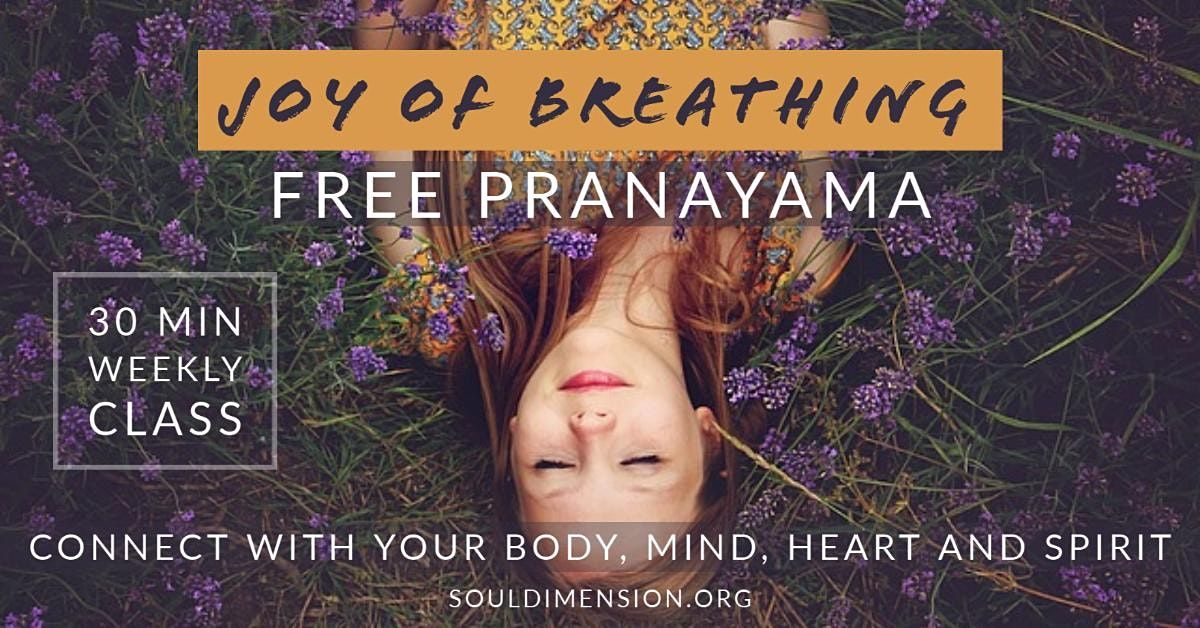 Pranayama △ Joy of Breathing   Event in Liverpool   AllEvents.in