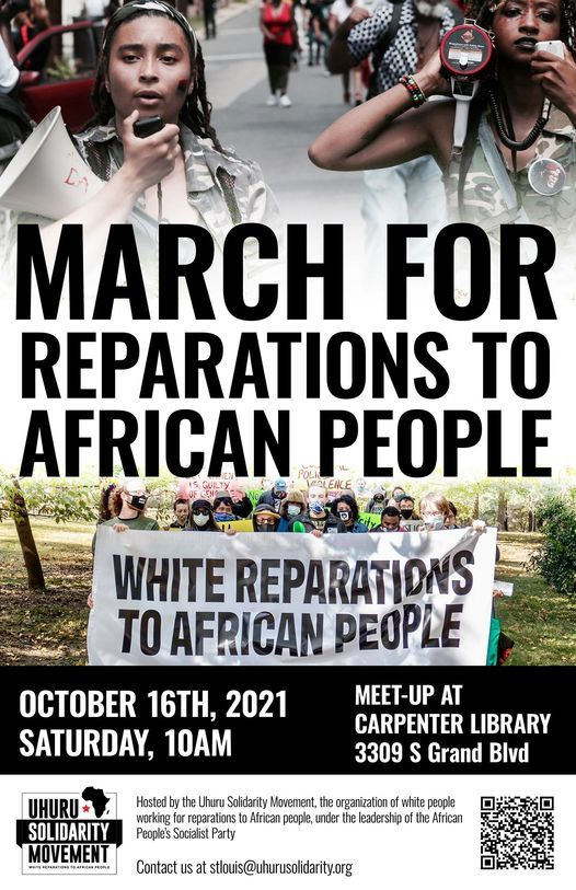 St Louis March for Reparations to African People | Event in St. Louis | AllEvents.in
