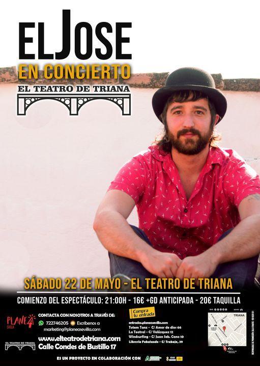 El Jose en concierto, 22 May | Event in Seville | AllEvents.in
