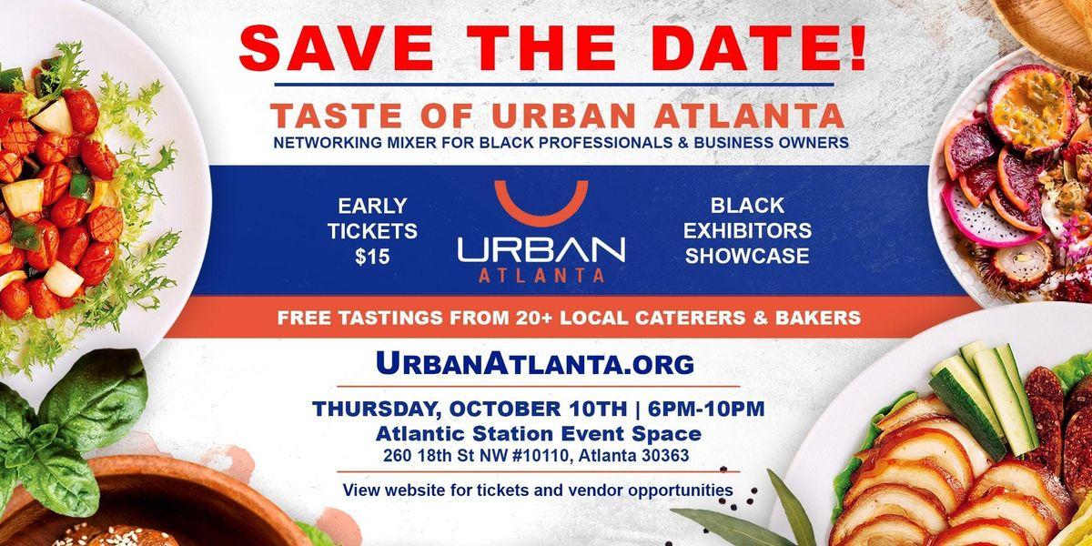 Taste of Urban Atlanta: October 2019 at The Pop Up Spot