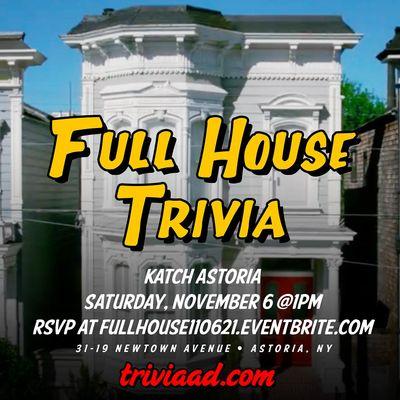 Full House Brunch Trivia
