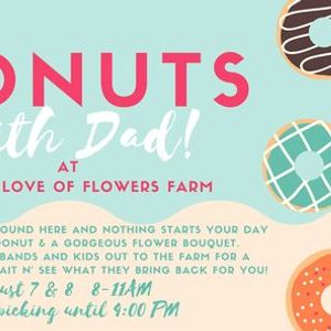 Donuts With Dad  The Flower Farm