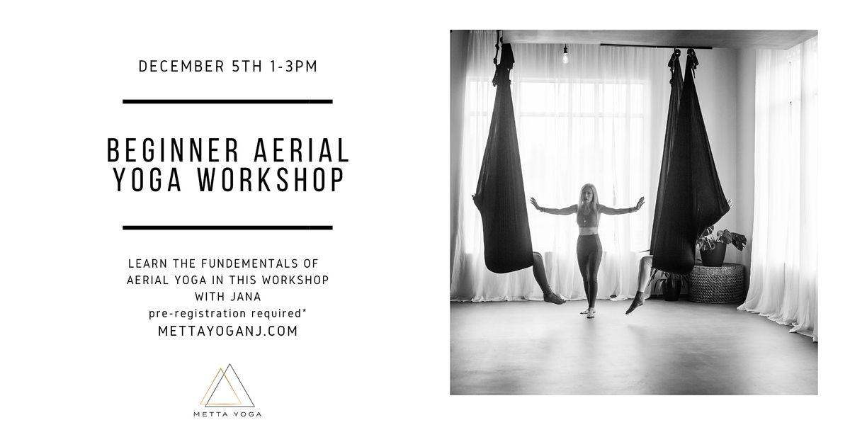 Beginner Aerial Yoga Workshop, 5 December | Event in Neptune | AllEvents.in