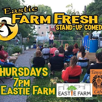 Farm Fresh Stand-up Comedy at Eastie Farm East Boston