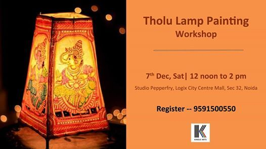 Tholu Lamp Painting Workshop
