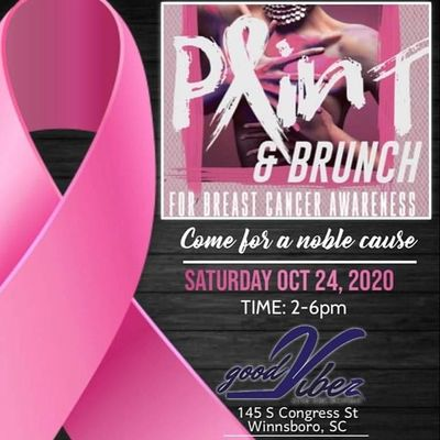 Paint & Brunch Breast Cancer Awareness
