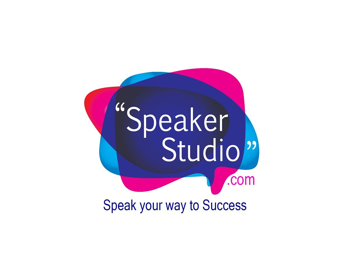 Speaker Studio Online Masterclass - Public Speaking Workshop