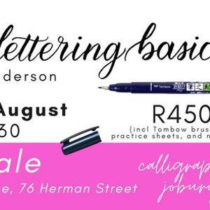 Brush Lettering Basics (Lephalale)