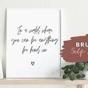 Brush Lettering - Self Love Calligraphy Workshop