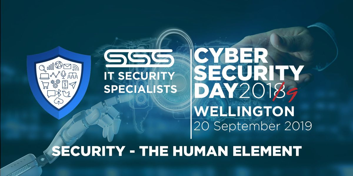 SSS Cyber Security Day 2019 (Wellington)