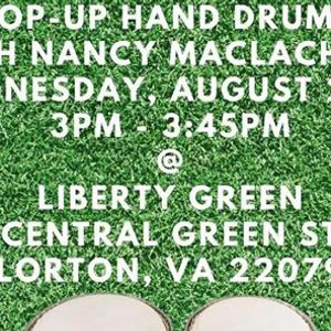 FREE Pop-Up Hand Drums Class with Nancy MacLachlan
